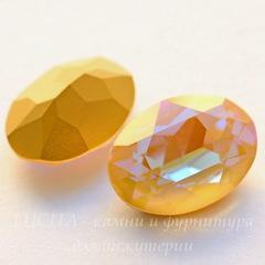 4120 Ювелирные стразы Сваровски Crystal Ochre DeLite (18х13 мм)