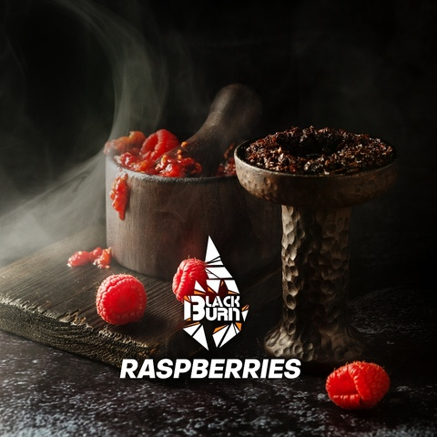 Табак Burn Black Raspberries (Малина) 200 г