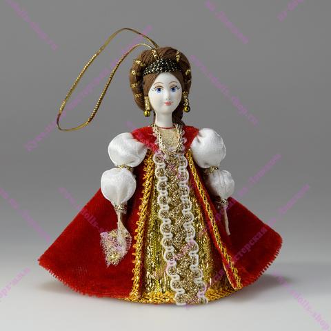 Подвесная кукла в костюме эпохи Возрождения