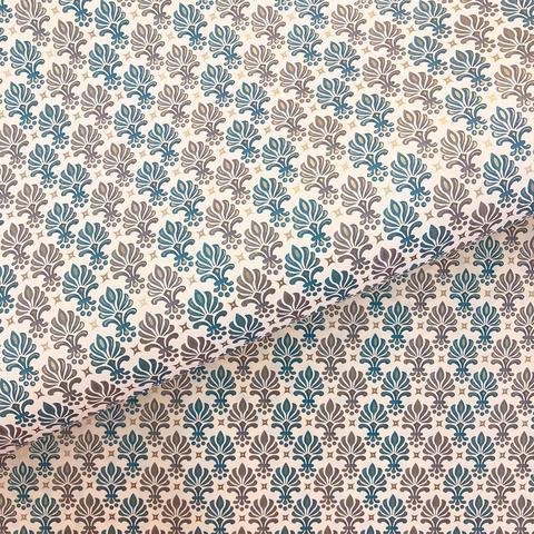 Бумага декоративная упаковочная Флорентийская стилизация