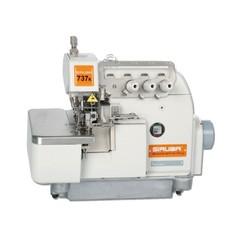 Фото: Трехниточная промышленная швейная машина обметочного стежка Siruba 737K-504F2-02