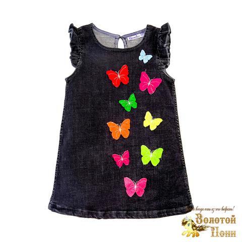 Платье джинсовое для девочки (2-5) 190320-OP768П.1
