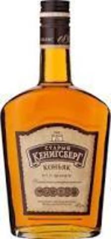Коньяк Старый Кенигсберг четырехлетний F 0,375л (12) 40%