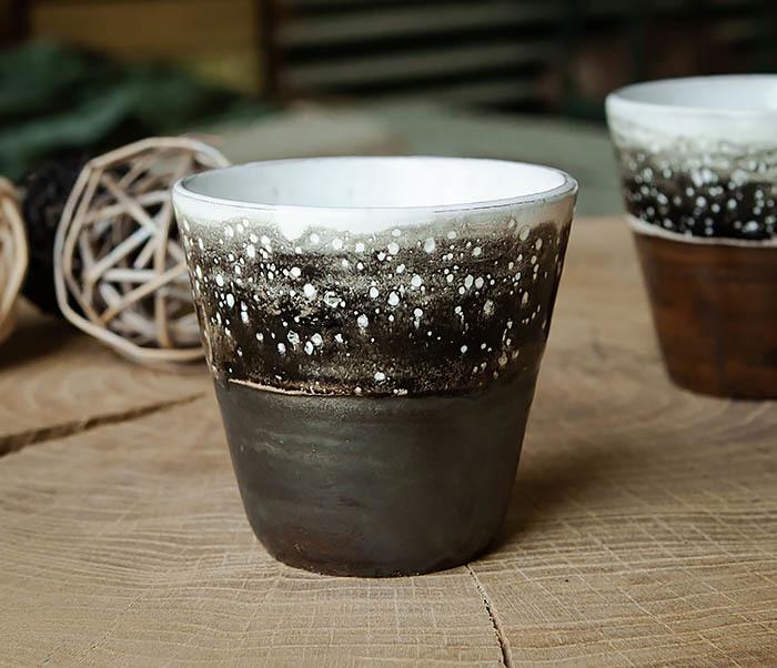 CUP108-1 Небольшой стакан ручной работы, серия «Млечный Путь» фото 02