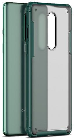 Чехол с зелеными рамками на OnePlus 8, серия Ultra Hybrid от Caseport