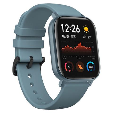 Смарт часы Amazfit GTS Steel Blue (Голубой)