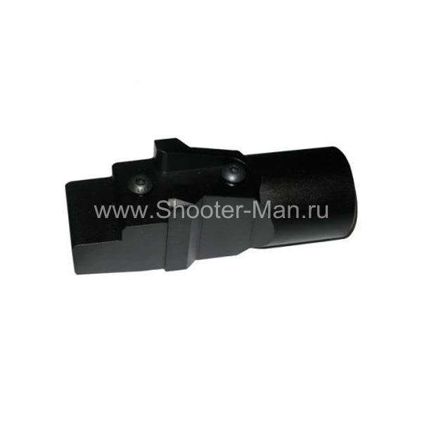 Не складной адаптер для установки телескопических прикладов на АК с нескладным прикладом Military Equipment