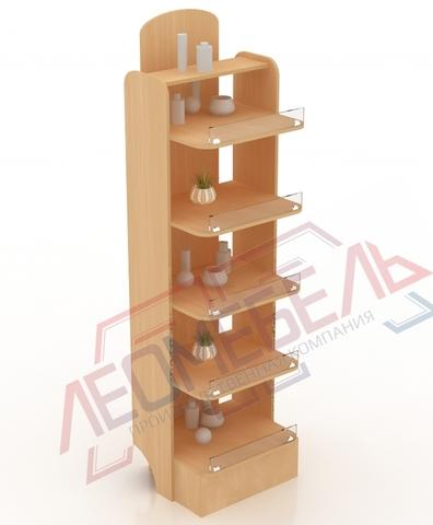 КСТ-06-50 Стеллаж криволинейный