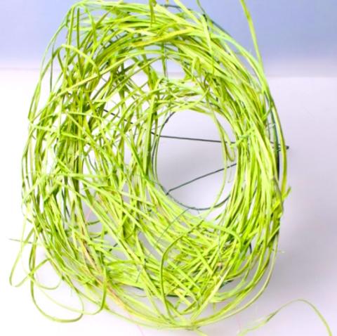 Каркас из ротанга (диаметр: 15 см) Цвет:салатовый