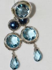 Шарада (кольцо + серьги из серебра)