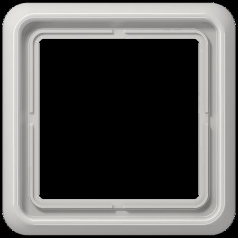 Рамка на 1 пост. Цвет Светло серый. JUNG CD 500. CD581LG