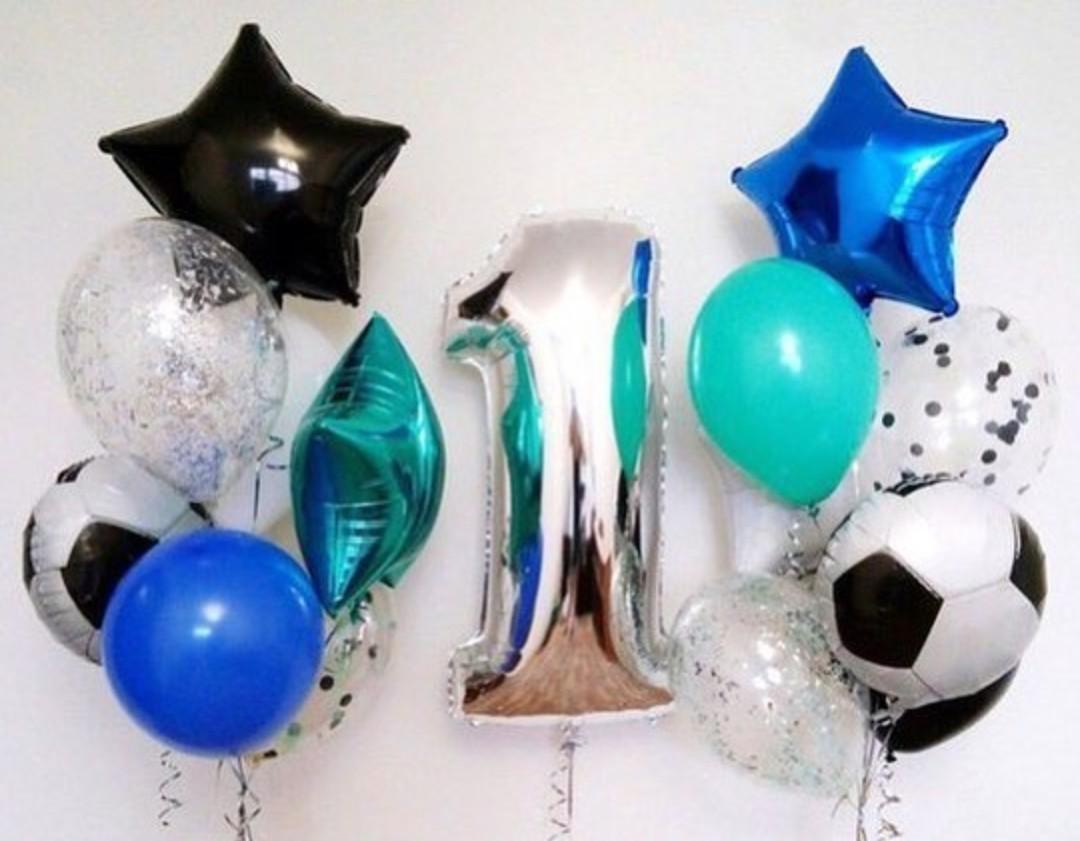 Шары цифры Композиция из шаров на день рождения с цифрой Футболисту BgxcsC0j2bE.jpg