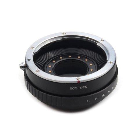 Переходник Canon EOS на Sony NEX с диафрагмой