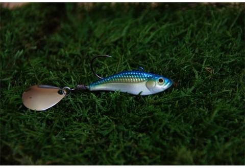 Тейл-спинер Top Tail ручной работы Fire Fish цвет 007