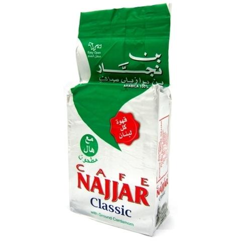 Арабский кофе молотый с кардамоном, Najjar, 450 г
