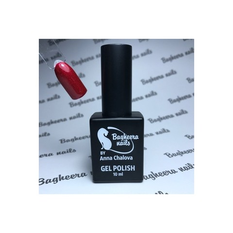 Bagheera Nails BN-104 гель-лак с блёстками 10 мл
