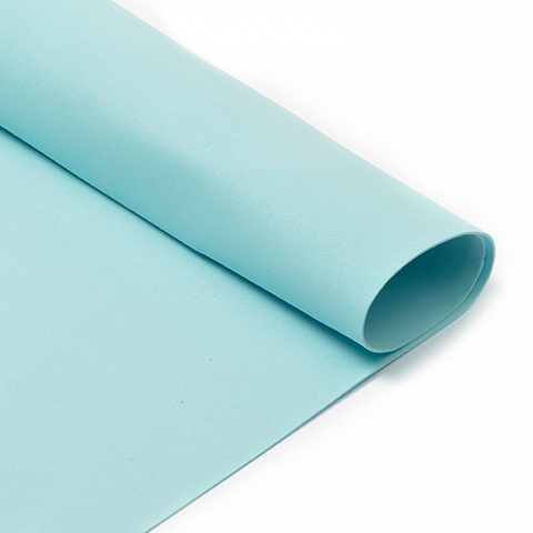 Фоамиран 1мм голубой