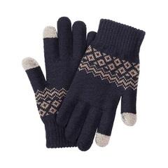 Перчатки для сенсорных экранов Xiaomi (темно-синие)