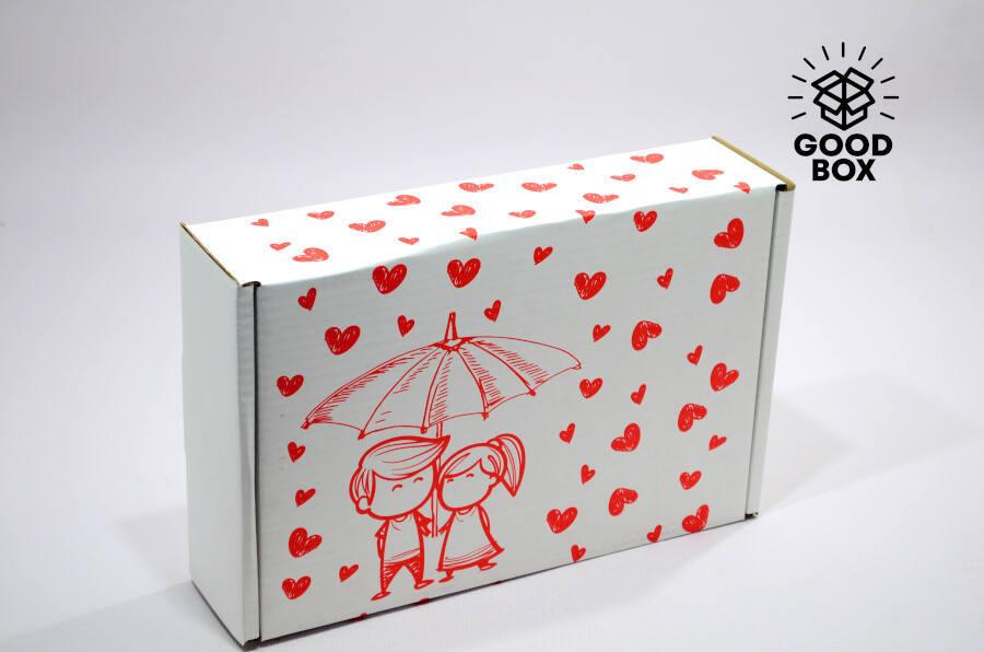 Подарочная коробка с зонтиком купить в Алматы