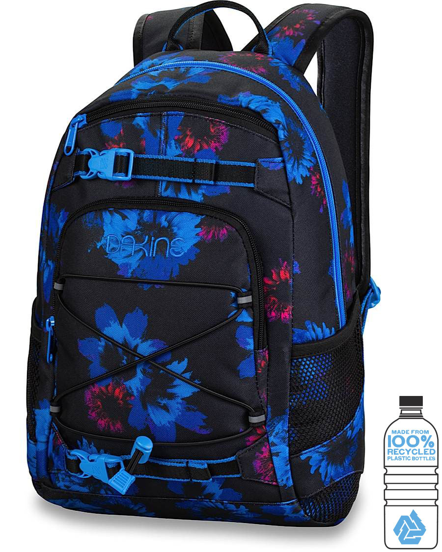 Dakine Grom 13L Рюкзак женский Dakine Girls Grom 13L Blue Flowers 8210105_BFL_GIRLSGROM13L_BLUEFLOWERS.jpg