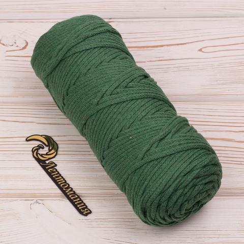 Шнур 4мм Темно-зеленый