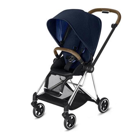 Прогулочная коляска  Cybex Mios Indigo Blue chrome