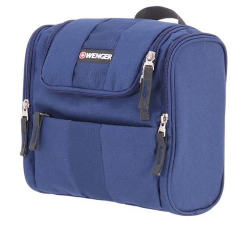 Несессер WENGER, 26х23х7 см., цвет синий (6085343009)