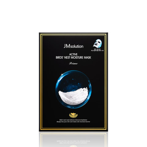 JMSolution Bird's Nest Moisture Mask Prime Маска для лица с экстрактом ласточкиного гнезда