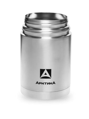 Термос для еды Арктика (0,75 литра) с супер-широким горлом, стальной