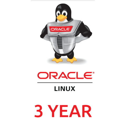 Сертификат на техническую поддержку Oracle VM Premier (3 Year Support)
