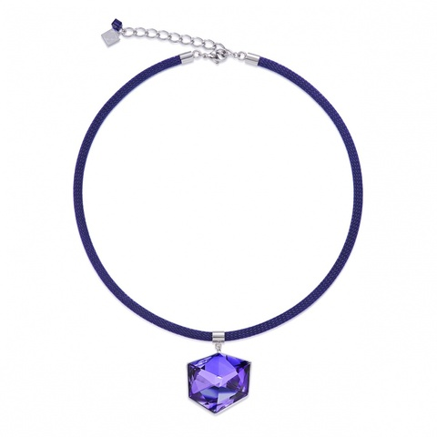 Колье Coeur de Lion 4889/10-0800 цвет фиолетовый