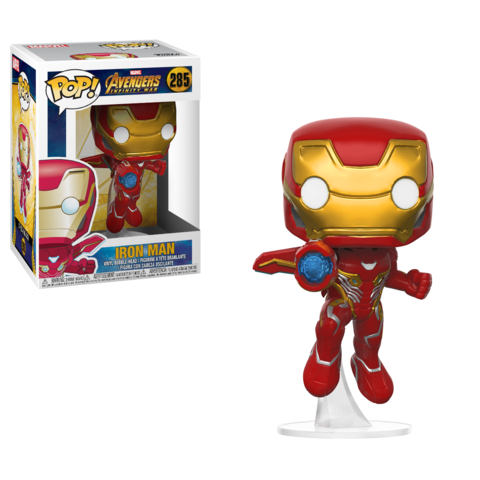 Funko POP! Bobble: Marvel: Avengers Infinity War: Iron Man