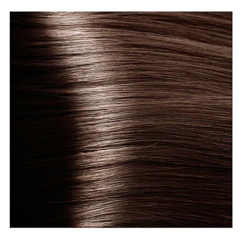 Крем краска для волос с гиалуроновой кислотой Kapous, 100 мл - HY 7.8 Блондин карамель