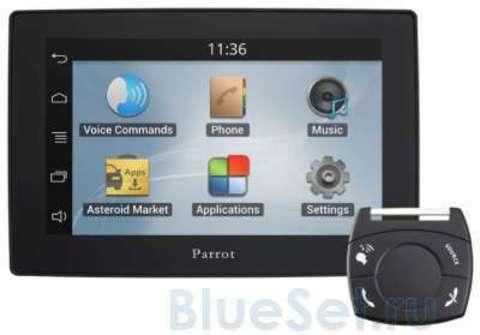 Parrot ASTEROID Tablet Автомобильный мультимедийный центр