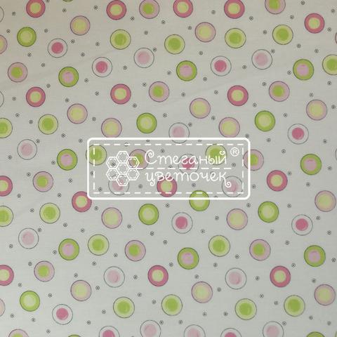 Ткань для пэчворка, хлопок 100% (арт. HT0802)
