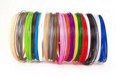Пластик для 3D ручек набор  комплект 20 цветов