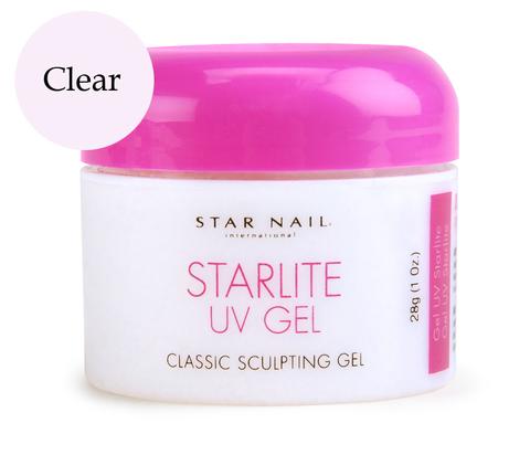 Гель для типсов прозрачный StarLite Clear Объём 28,4 г