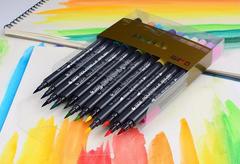 Набор двусторонних акварельных маркеров STA 3110