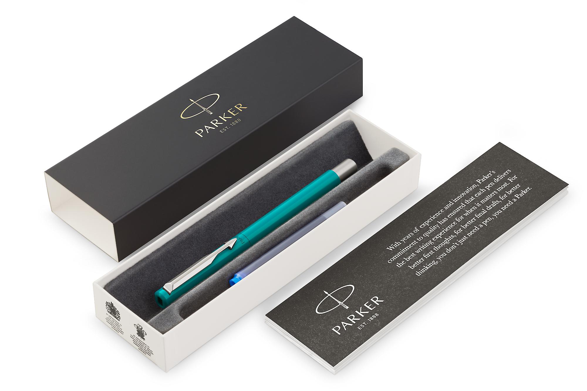 Parker Vector - Standart Blue-Green, перьевая ручка, F