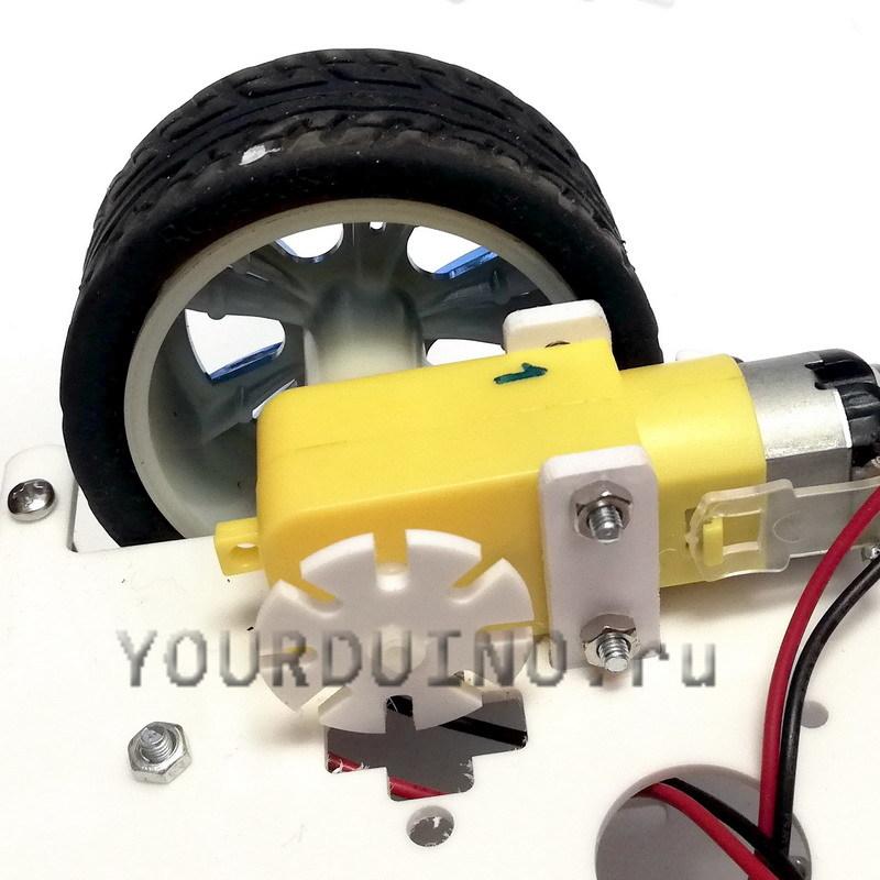 Набор для сборки колесного робота Smart Car Kit
