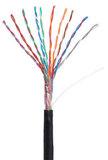 Кабель NETLAN U/UTP 10 пар, Кат 5 (Класс D), 100МГц, одножильный, BC (чистая медь), внешний, PE до -40C, черный, 305м, купить оптом по низкой цене