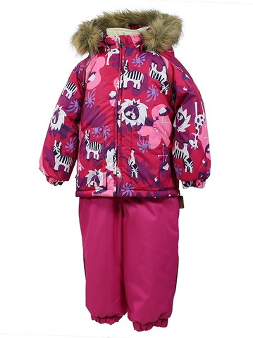 Фото костюма зимнего Huppa Avery розовый