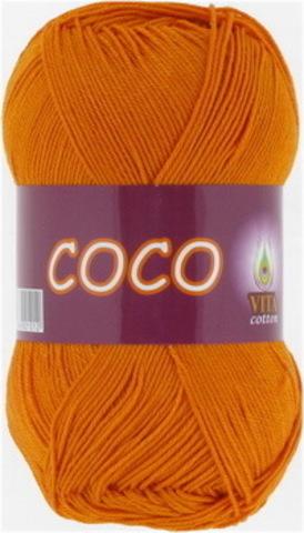Пряжа Coco (Vita cotton) 4329 Золото