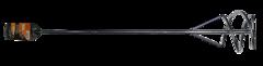 Насадка - миксер оцинкованная 600х100 мм SDS+ Вихрь