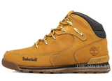 Мужские Ботинки Timberland Euro Sprint Waterproof Yellow С Мехом