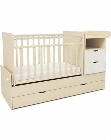 Кровать-трансформер Sweet Baby Valentino Avorio Bianco Слоновая кость+белый