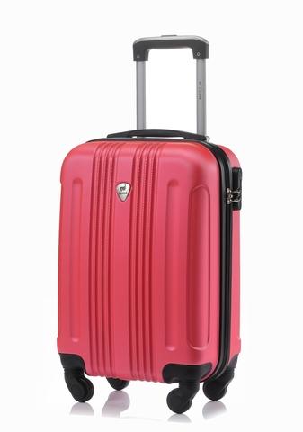 Чемодан с расширением L'case Bangkok-22 Розовый (M)