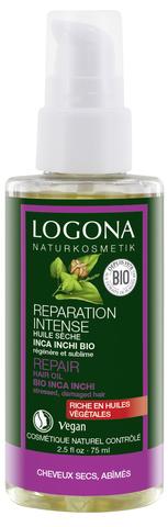 LOGONA Восстанавливающее масло для волос