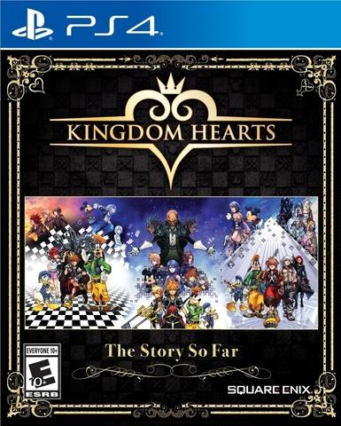 Kingdom Hearts: The Story So Far (PS4, английская версия)