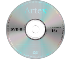 Диски Artex DVD-R 4,7 GB 16x Bulk/50 CMC
